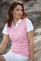 Glenmuir Dornoch 100% Lambswool Sleeveless Golf Slipover