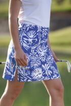 Glenmuir Lulu Tropical Print Cotton Stretch Skort
