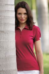Glenmuir Alana Performance Polo Shirt with Gathered Sleeves