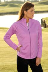 Ladies' Glenmuir Beatrice Storm Bloc™ Zip Front Fleece Jacket In 2 Colours