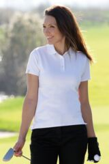 Glenmuir Carnie Shaped Fit Cotton Golf Polo Shirt