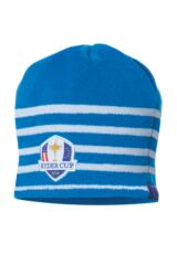 Glenmuir Ryder Cup 2014 Fanwear Dupplin Knitted Striped Beanie Hat