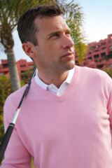 Glenmuir Lomond 100% Lambswool V Neck Golf Sweater