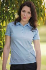 Glenmuir Michelle 100% Mercerised Cotton Shaped Fit Golf Shirt