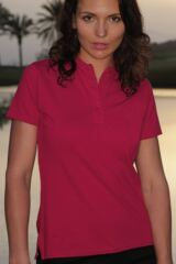 Glenmuir Sophie Shaped Fit Cotton Golf Polo Shirt