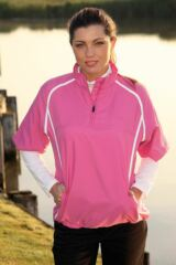 Glenmuir Storm Bloc Par Half Sleeve Golf Wind Shirt