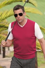 Glenmuir Thornton V Neck 100% Supersoft Cotton Golf Slipover