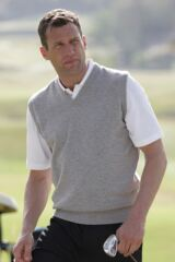 Glenmuir Windermere 100% Lambswool Sleeveless Golf Slipover