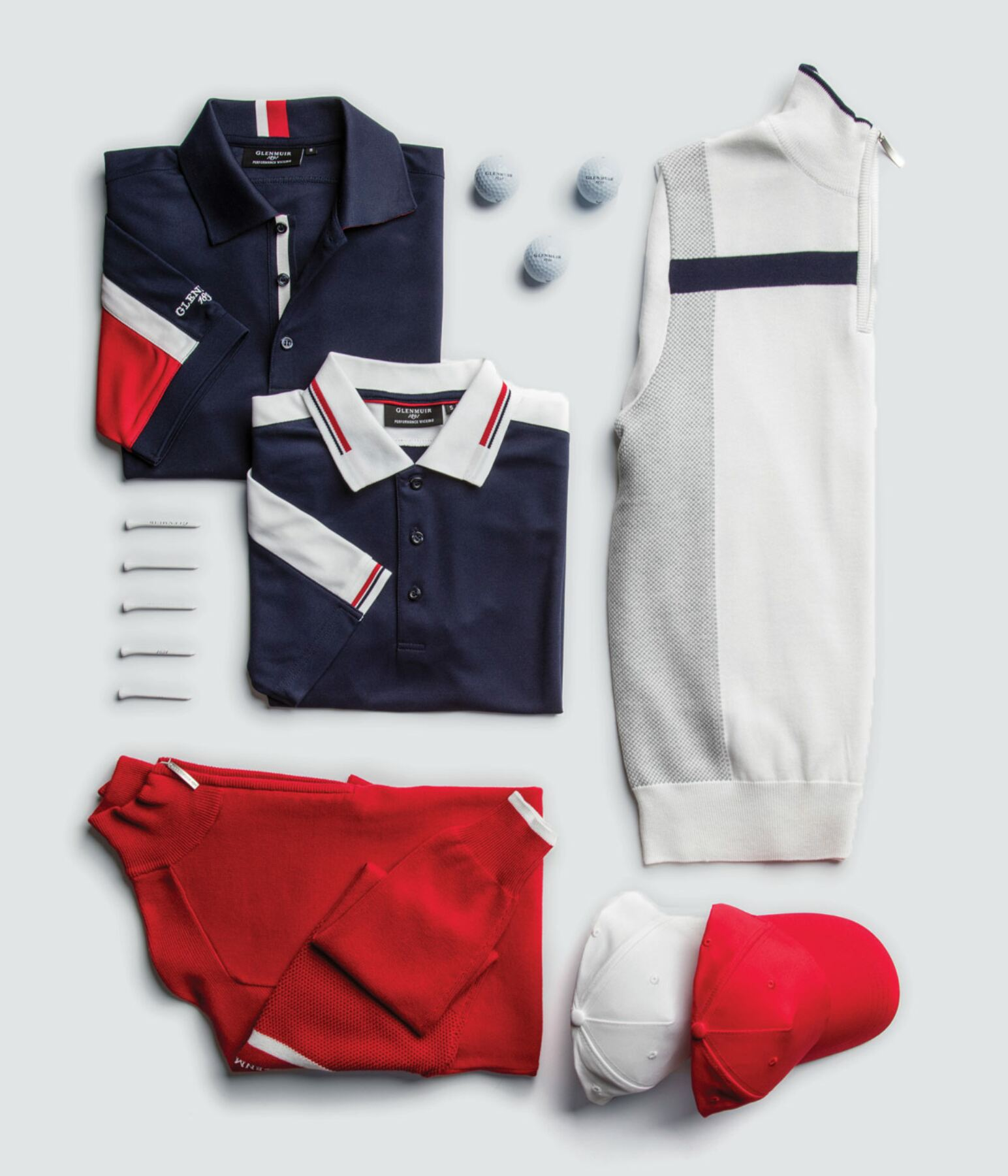 STYLE ON-COURSE WITH COORDINATED OUTFITS