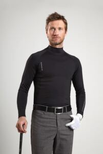 Glenmuir Mens Mock Neck Golf Base Layer