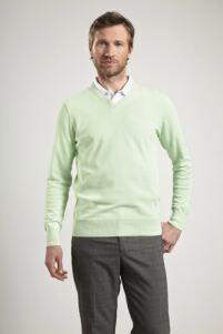 Glenmuir Mens V Neck Cotton Golf Sweater