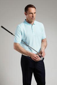 Glenmuir Mens Classic Fit Cotton Pique Polo Shirt