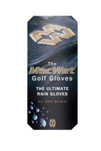 Mens and Ladies MacWet® Original Micromesh Golf Rain Gloves (Pair)