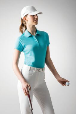 Ladies' Aqua Bunker Look