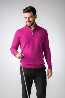 Men's Fuchsia Tee Look