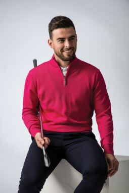Men's Magenta Fairway Look