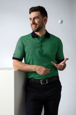 Men's Spring Green Fairway Look