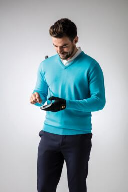 Men's Aqua Fairway Look