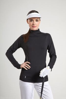 Glenmuir Ladies Mock Neck Golf Base Layer