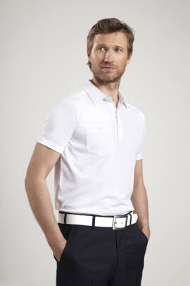 Glenmuir Mens Chest Pocket Golf Polo Shirt