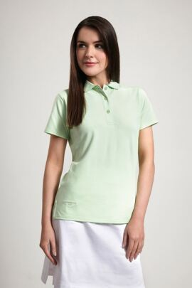 Glenmuir Ladies Cotton Pique Polo Shirt