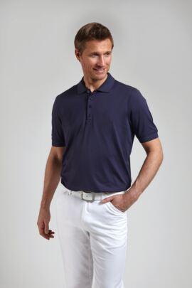 Glenmuir Mens Performance Classic Fit Plain Golf Polo Shirt