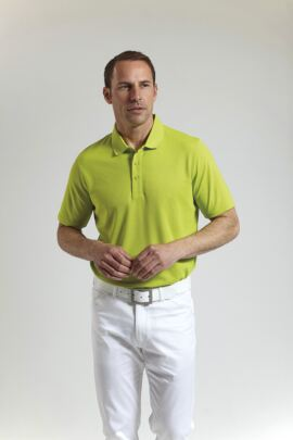 Glenmuir Mens Performance Pique Golf Polo Shirt