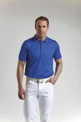Glenmuir Mens Performance Stretch Golf Polo Shirt