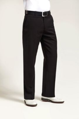 Mens Performance Adjustable Stretch Golf Trousers - Sale