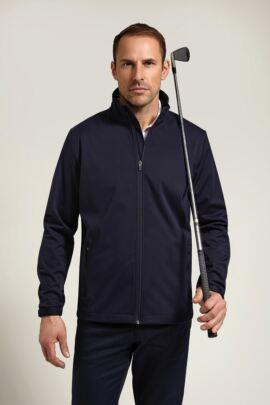 Glenmuir Mens Zip Front Golf Wind Jacket