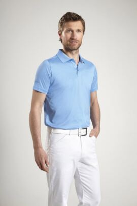 Glenmuir Mens Plain Mercerised Golf Polo Shirt