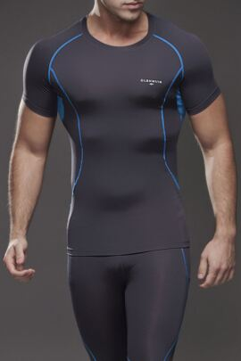 Mens Short Sleeved Compression Golf Base Layer