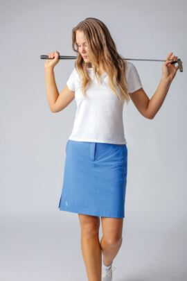 Ladies Lightweight Stretch Performance Golf Skort