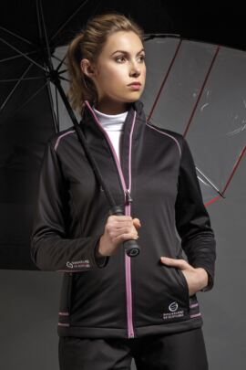 Sunderland Ladies Annapurna Bonded Fleece Golf Jacket