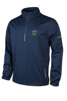 OLGS Mens Water Repellent Zip Neck Performance Windshirt
