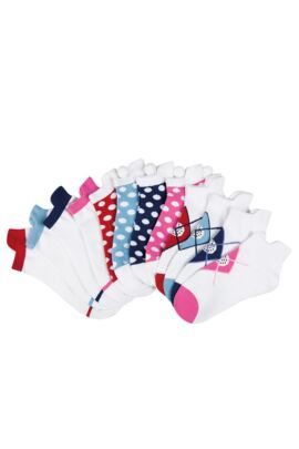 Glenmuir Ladies 36 Pair Pack Fashion Patterned Golf Socks
