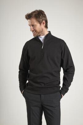 Glenmuir Mens Zip Neck Interlock Jersey Golf Mid Layer - Sale