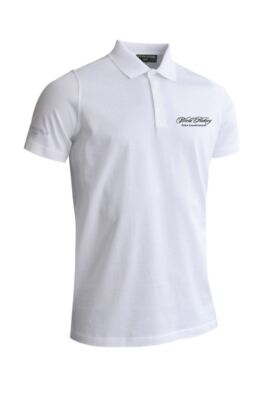WHO Glenmuir Mens Plain Mercerised Golf Polo Shirt