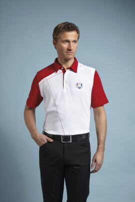 Glenmuir Mens Ryder Cup 2014 Fanwear Glenshee Performance Polo Shirt