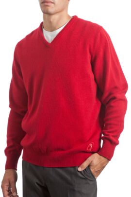 Heritage V Neck Touch of Cashmere Sweater