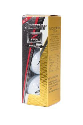 Srixon Z Star 3 Pack Glenmuir Logo Balls