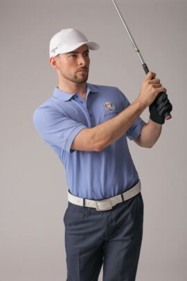 Official Ryder Cup 2018 Glenmuir Mens Classic Fit Cotton Pique Polo Shirt