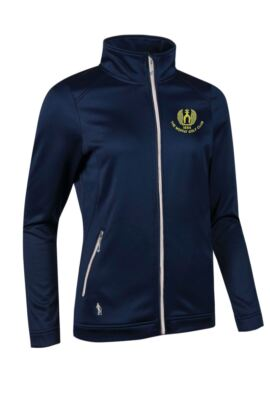 Moffat GC Ladies Performance Zip Front Long Sleeve Mid Layer
