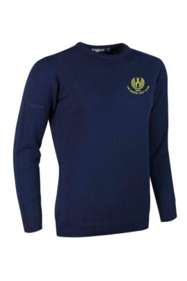 Moffat GC Ladies Crew Neck Lambswool Golf Sweater