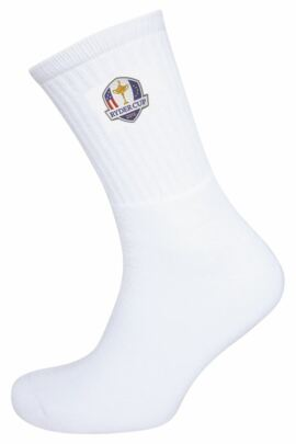 Official Ryder Cup 2018 Glenmuir Mens Crew Golf Socks