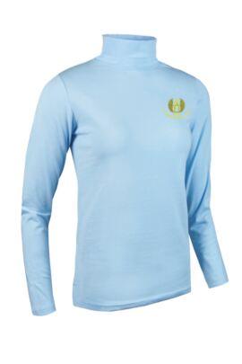 Moffat GC Glenmuir Ladies Roll Neck Long Sleeve Cotton Golf Shirt