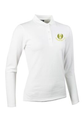 Moffat GC Glenmuir Ladies Long Sleeve Cotton Pique Polo Shirt
