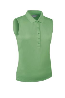 Glenmuir Ladies Performance Pique Sleeveless Polo - Sale