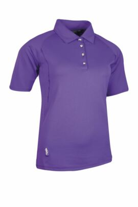Ladies Performance Mid Length Sleeve Golf Polo Shirt with Grosgrain Ribbon Piping - Sale