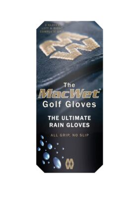 Ladies and Mens MacWet® Original Micromesh Golf Rain Gloves (Pair)